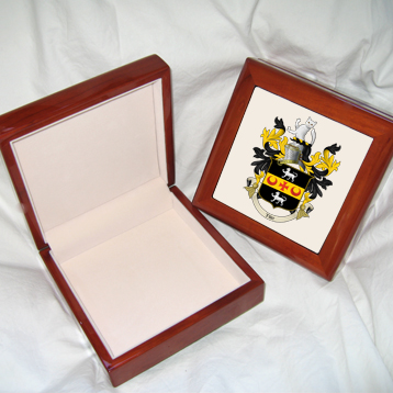 Coat of Arms / Family Crest Keepsake memory box
