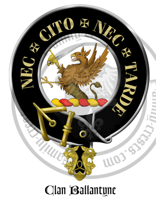 Clan Ballantyne Clan Crest