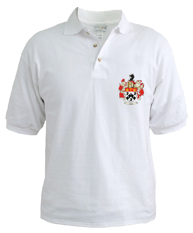Family Crest (Coat of Arms) Golf (Polo) Shirt