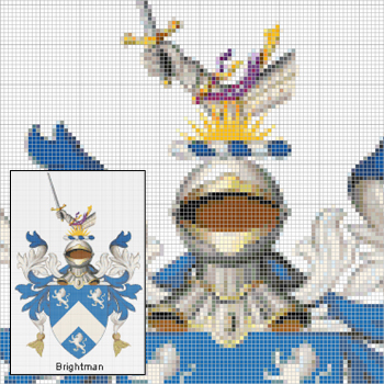 Coat of Arms Cross Stitch