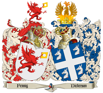 Wedding Family Crest Emailed Graphic