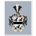 Family Crest Ready-to-Frame Print