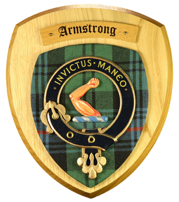 Clan Crest Hand Painted Plaque