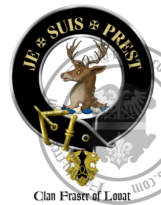Clan Fraser of Lovat Clan Crest