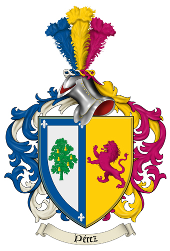 Perez Family picture: perez family crest jpg (family-crests.com)