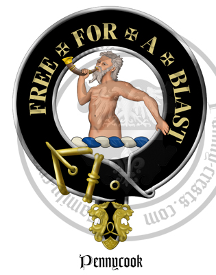 Clan Pennycook Clan Crest