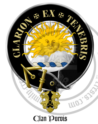 Clan Purvis Clan Crest